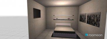 Raumgestaltung quarto in der Kategorie Schlafzimmer