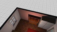 Raumgestaltung Rachel WG in der Kategorie Schlafzimmer