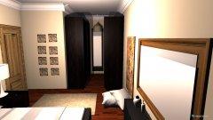 Raumgestaltung Rasha Bedroom in der Kategorie Schlafzimmer