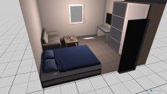 Raumgestaltung Raum 2 in der Kategorie Schlafzimmer
