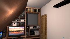 Raumgestaltung Raum Einbauschrank in der Kategorie Schlafzimmer