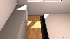 Raumgestaltung raum rechts in der Kategorie Schlafzimmer