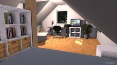 Raumgestaltung Rebecca Dachwohnung II 780 in der Kategorie Schlafzimmer