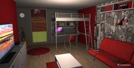 Raumgestaltung Red Byys Room in der Kategorie Schlafzimmer