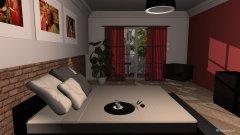 Raumgestaltung red in der Kategorie Schlafzimmer