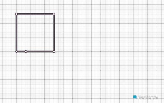 Raumgestaltung Redblue Bedroom in der Kategorie Schlafzimmer