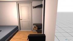 Raumgestaltung Regalbretter in der Kategorie Schlafzimmer