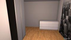 Raumgestaltung richards zimmer in der Kategorie Schlafzimmer