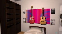 Raumgestaltung robins room in der Kategorie Schlafzimmer