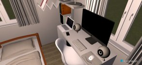 Raumgestaltung Room 2 in der Kategorie Schlafzimmer
