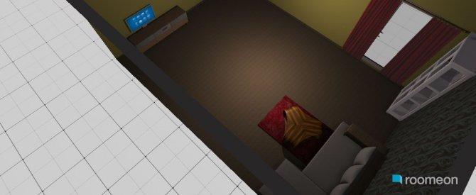 Raumgestaltung ruhe in der Kategorie Schlafzimmer
