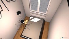 Raumgestaltung sad in der Kategorie Schlafzimmer