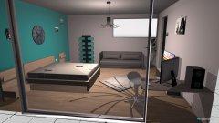 Raumgestaltung salomes zimmer in der Kategorie Schlafzimmer