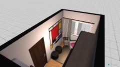 Raumgestaltung satna in der Kategorie Schlafzimmer