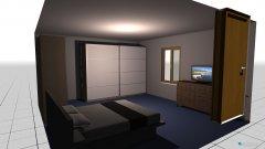Raumgestaltung schalfen in der Kategorie Schlafzimmer