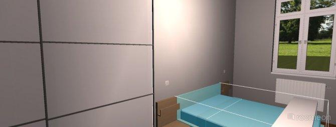 Raumgestaltung Schalfzimmer 2 in der Kategorie Schlafzimmer