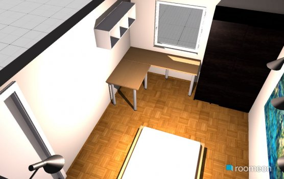 Raumgestaltung Schlaf 1 in der Kategorie Schlafzimmer