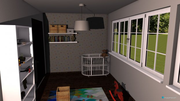 Raumgestaltung Schlaf bzw. Kinderzimmer in der Kategorie Schlafzimmer