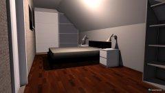 Raumgestaltung Schlaf und Ankleidezimmer in der Kategorie Schlafzimmer