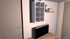Raumgestaltung Schlaf- und Zockerzimmer in der Kategorie Schlafzimmer