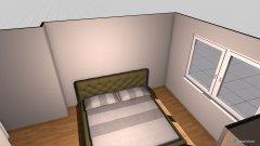 Raumgestaltung schlafe in der Kategorie Schlafzimmer
