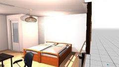 Raumgestaltung Schlafen Büro Sport in der Kategorie Schlafzimmer