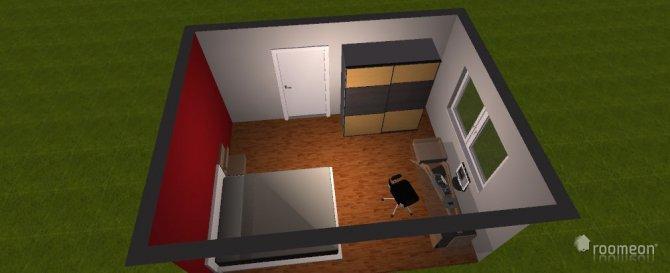 Raumgestaltung Schlafizmmer 1 in der Kategorie Schlafzimmer