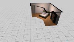 Raumgestaltung Schlaflaube1 in der Kategorie Schlafzimmer