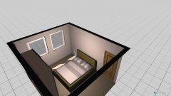 Raumgestaltung Schlafstube OG in der Kategorie Schlafzimmer
