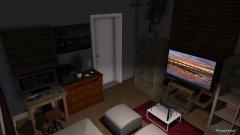 Raumgestaltung Schlafwohnzimmer in der Kategorie Schlafzimmer