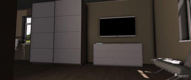 Raumgestaltung Schlafzimmer 1 (modern) in der Kategorie Schlafzimmer