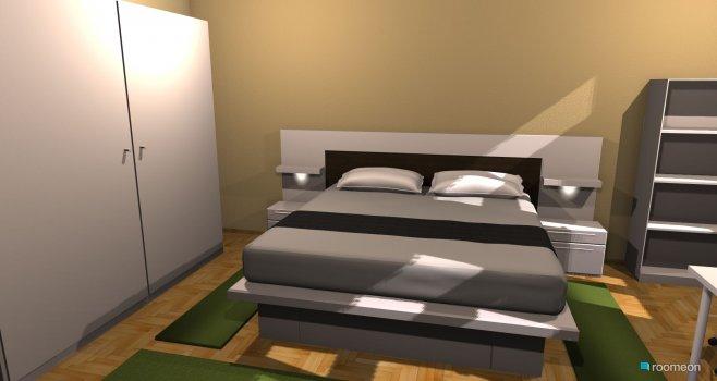 Raumgestaltung Schlafzimmer 1 sicht 1 in der Kategorie Schlafzimmer
