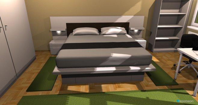 Raumgestaltung Schlafzimmer 1 sicht 2 in der Kategorie Schlafzimmer