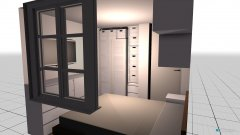 Raumgestaltung Schlafzimmer Basti in der Kategorie Schlafzimmer