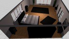 Raumgestaltung Schlafzimmer Black in der Kategorie Schlafzimmer