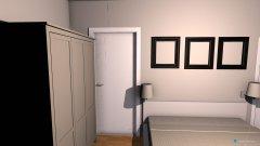 Raumgestaltung Schlafzimmer Bünaustraße  in der Kategorie Schlafzimmer