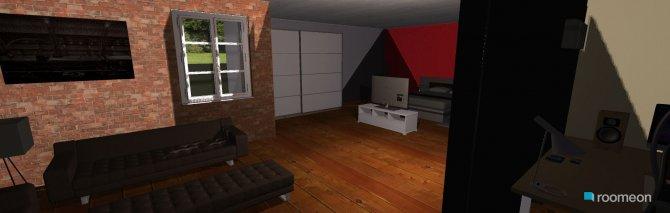 Raumgestaltung schlafzimmer büro in der Kategorie Schlafzimmer