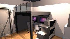 Raumgestaltung Schlafzimmer Diana und David in der Kategorie Schlafzimmer