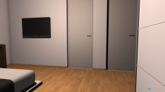 Raumgestaltung Schlafzimmer Einlieger in der Kategorie Schlafzimmer