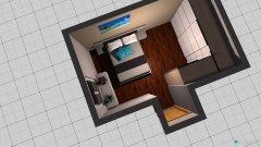 Raumgestaltung Schlafzimmer-Einliegerwohnung in der Kategorie Schlafzimmer