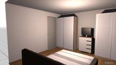 Raumgestaltung Schlafzimmer Eltern in der Kategorie Schlafzimmer