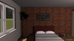 Raumgestaltung Schlafzimmer Feuer in der Kategorie Schlafzimmer