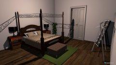 Raumgestaltung Schlafzimmer groß in der Kategorie Schlafzimmer