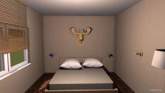 Raumgestaltung Schlafzimmer großer Raum in der Kategorie Schlafzimmer