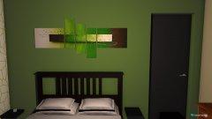 Raumgestaltung Schlafzimmer grün in der Kategorie Schlafzimmer