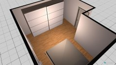Raumgestaltung Schlafzimmer Haus klein in der Kategorie Schlafzimmer