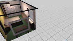 Raumgestaltung Schlafzimmer hinten in der Kategorie Schlafzimmer