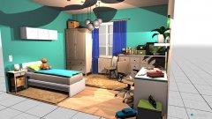 Raumgestaltung schlafzimmer kind in der Kategorie Schlafzimmer