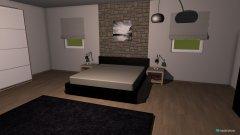 Raumgestaltung Schlafzimmer Lacko in der Kategorie Schlafzimmer