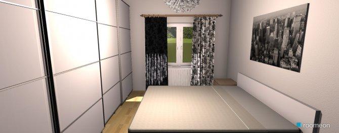 Raumgestaltung Schlafzimmer Lipsia in der Kategorie Schlafzimmer